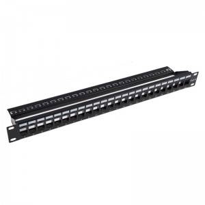 CAT5E Patch Panel UNPP064UC5EBLK
