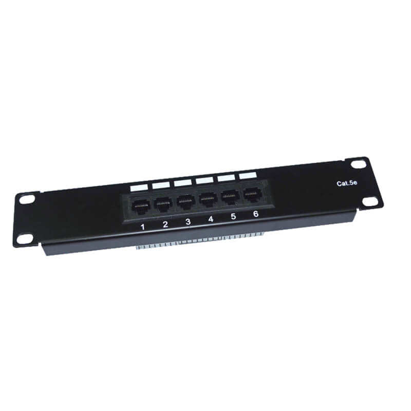 "Hot New Products 19"" 1u 24 Ports Cat5e Stp Krone Idc Patch Panel -