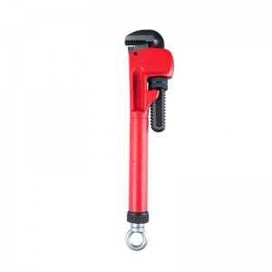 14-17.5IN TELESCOPIC HANDLE PIPE WRENCH,CARBON STEEL,CRV