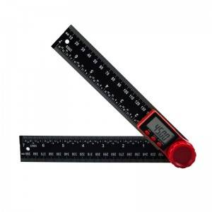 2-IN-1 DIGITAL ANGLE RULER(0-200MM), 3V CR2032 LITHIUM BATTERY, SAE METRIC SCALE RULERS