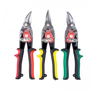 3PC AVIATION SNIPS SET, CR-V, INCLUDE LEFT,STRAIGHT,RIGHT CHROME VANADIUM STEEL