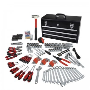 438PC PROFESSIONAL TOOL SET,CRV,CARBON STEEL