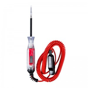 DIGITAL LCD 3-48V WIDE RANGE CIRCUIT TESTER,CABLE LENGTH:11FT