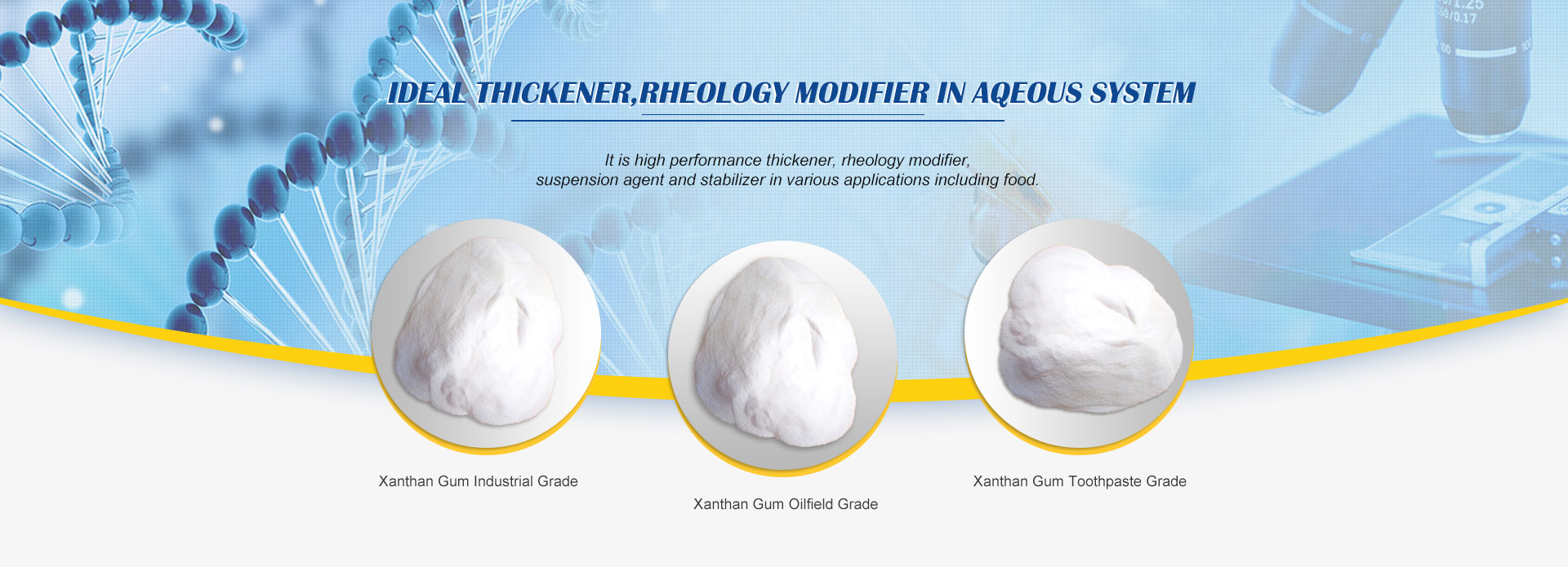 Ideal Thickener,rheology modifier in aqeous system
