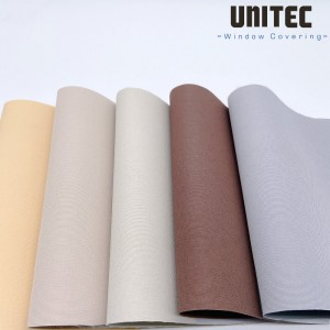 Strong polyester blackout roller blinds fabric URB70