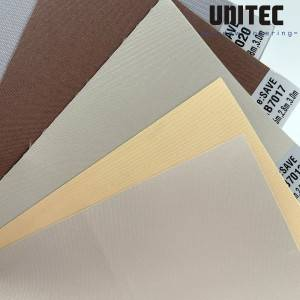 Cheap price Two Layer Roller Blinds Fabric -