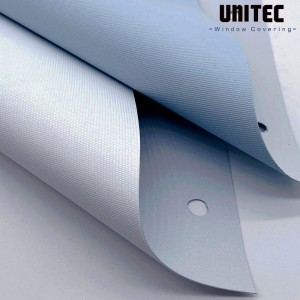 White coating blackout roller blind URB3601-3603