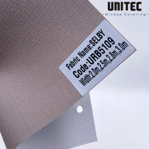 Factory Price For Dubai Solar Roller Blinds Fabric -