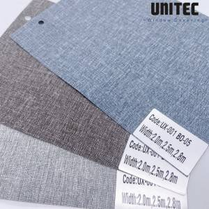 UX-001 Cationic Polyester Blackout Fabric