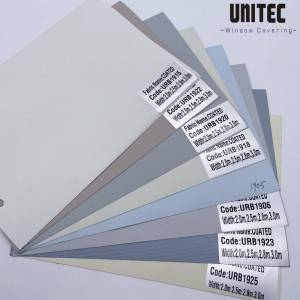 Best selling URB19 series blackout roller blinds