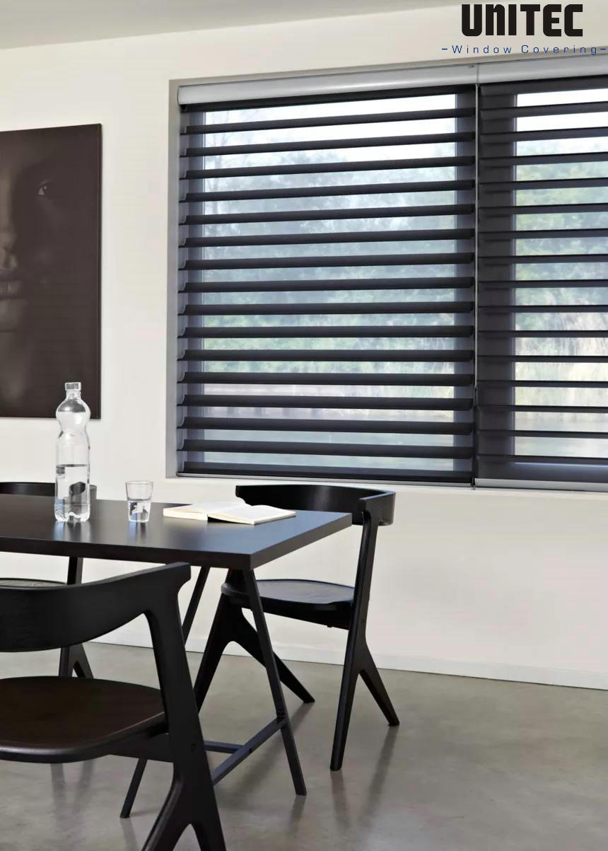 These advantages of UNITEC Shangri-La roller blind fabrics, you don't know it is too late!