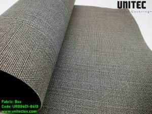 UNITEC's newly developed light-transmitting polyester roller blind URB84