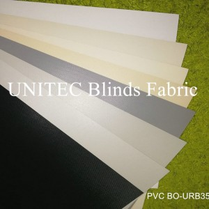 High material glass fiber PVC opaque roller blind URB35