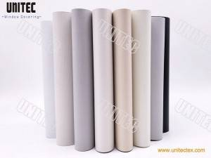 UNITEC-URB35 Series Blackout Fiberglass Fabric Fabric White color