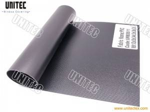 South America HOT-Selling Fabric Blackout Fiberglass PVC Fabric from UNITEC-China