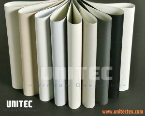 PVC lamination blackout roller blinds fabric T-PVC URB03-11