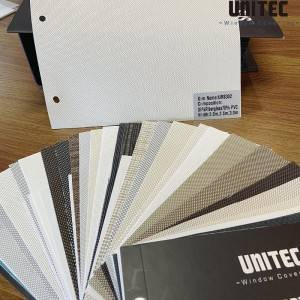Hot-selling beige sunscreen roller blinds URS30