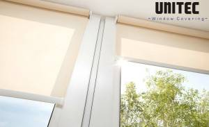 Sunscreen roller blind URS12 with the smallest opening rate