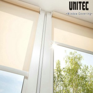 Sunscreen roller blind URS601 with PVC material