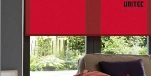 Multi-color opaque blackout roller blinds URB6010