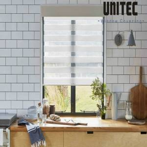 New wave pattern zebra roller blind UNZ20 series