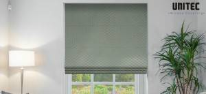 UNITEC polyester jacquard blackout roller blind can protect your privacy
