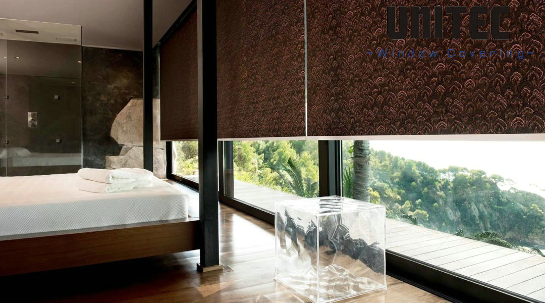 China The Sound Insulation Of Fabric Roller Blinds Is Very Good Factory And Manufacturers Unitec