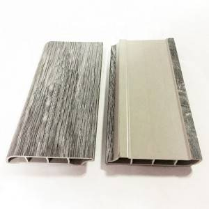 Good Quality Fire Resistant SPC Skirting Board