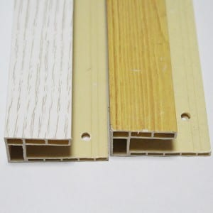 Heat resistant spc flooring accessories
