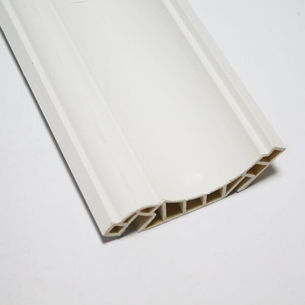 Factory For Pvc Skirting Board With Wooden Design -