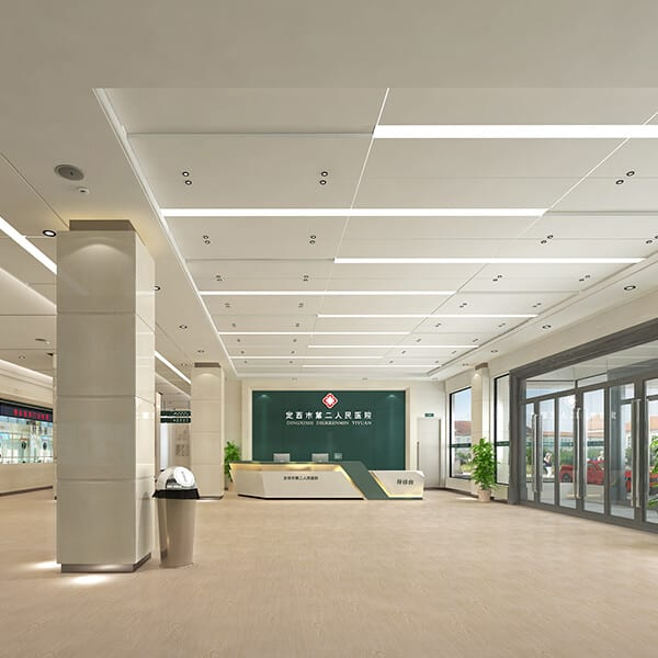Factory Free sample Pvc Exterior Ceiling Panels -