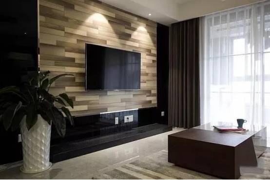 Background wall decoration l UTOP floor is more suitable for TV