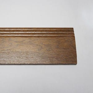Fireproof decorative spc skirting board