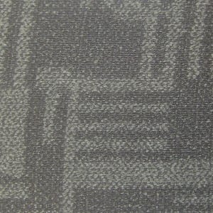 Woven carpet grain spc flooring