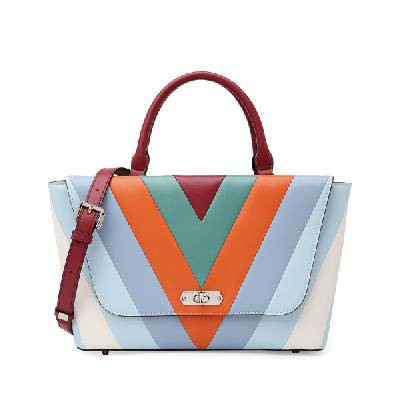 Colorful Contrast Handbag Featured Image