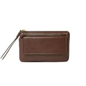 Zip Detail Travel Wallet