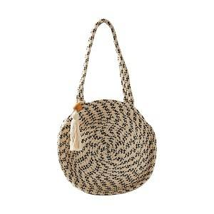 Fabric Circle Tote Bag