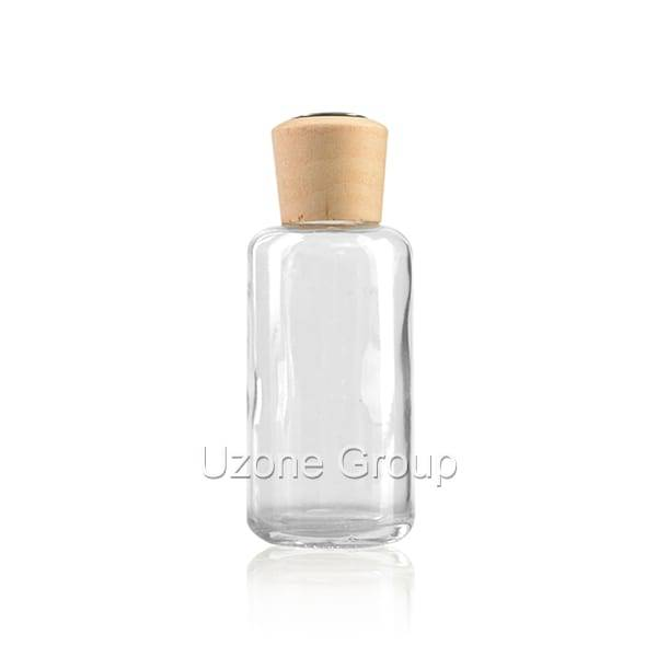100ml Glass Reed Diffuser Bottle With Wooden Cap Featured Image