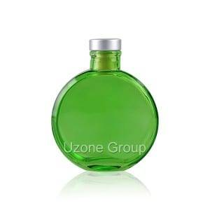 Best quality 30ml Bamboo Cosmetic Bottle - 150ml Glass Reed Diffuser Bottle With Synthetic Plug – Uzone