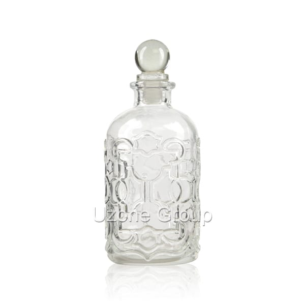 220ml Glass Reed Diffuser Bottle With Glass Ball Plug Featured Image
