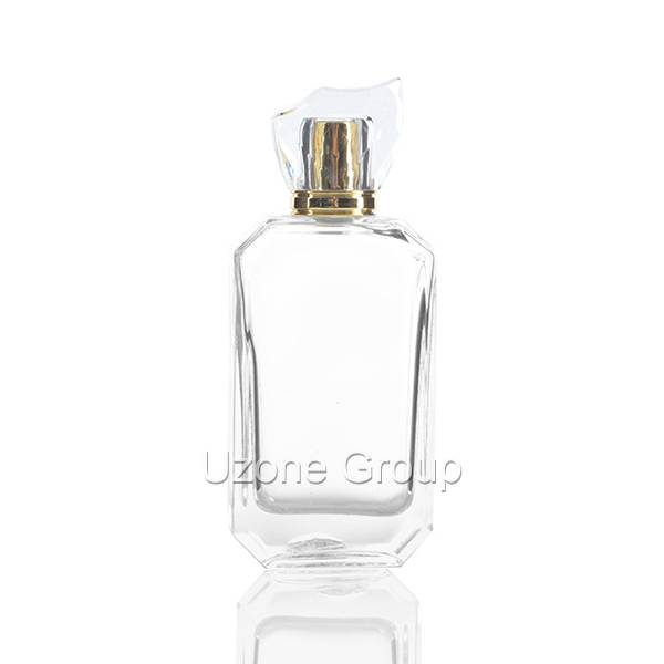 OEM China Glass Bottle Rectangular White 30 Ml -