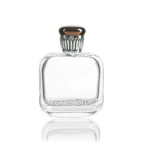 90ml Glass Perfume Bottle With Plastic Cap And Sprayer