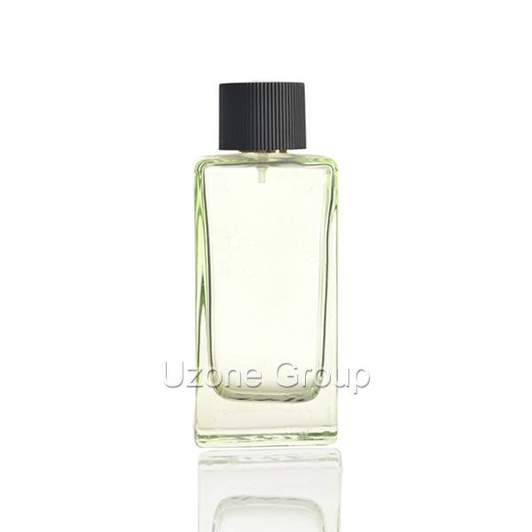 120ml Square Glass Perfume Bottle With Plastic Cap And Sprayer Featured Image
