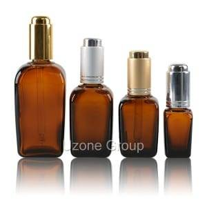 8 Year Exporter Airless Bottles Wholesale - Square Amber Glass Essential Oil Bottle With Dropper – Uzone