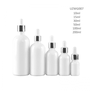 Factory wholesale 30ml Cosmetic Jars - Opal White Glass Essential Oil Bottle – Uzone