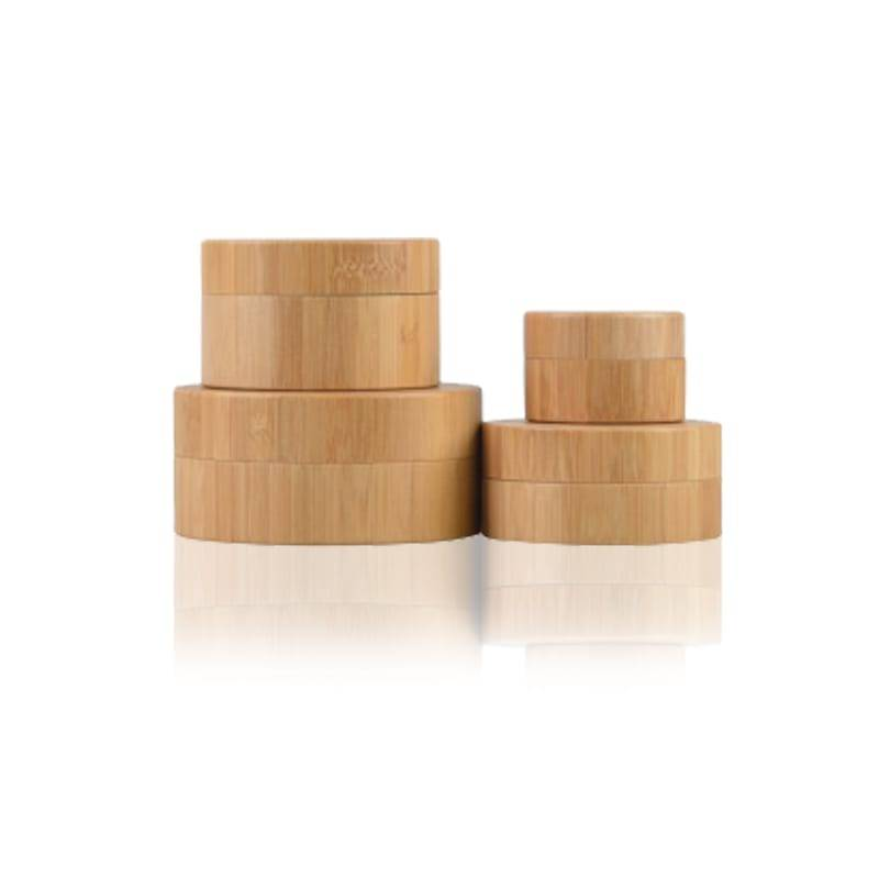 Natural Bamboo Jar s PP Inner