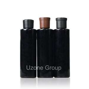 250ml Dark Violet Glass Reed Diffuser Bottle With Beech Cap