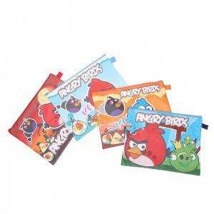 Kids Cute Beauty Cosmetic Bag With Cartoon Full Printing