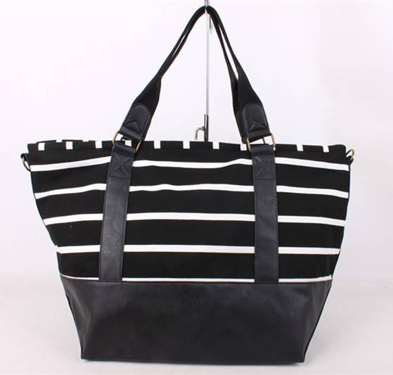 tote cotton canvas shoulder handbag for woman Featured Image