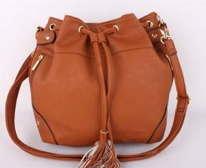 Fashion design pu leather women handbags for gift leather handbag